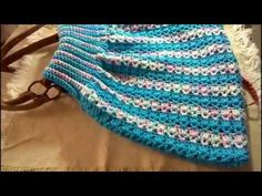 Crochet Handbags, Crochet Purses, Crochet Hats, Free Crochet, Crochet Top, Sparkle Outfit, Some Body, Collar Pattern, Crochet Videos