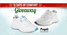 Day 11: Propét Preferred is a therapeutic line from Propét, made especially for those with problem feet with added features for extra stability and support. Enter to win a pair on our FootSmart Facebook page.