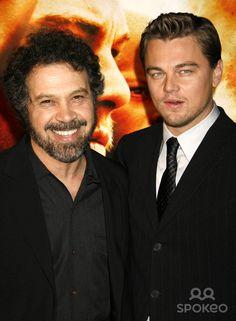 "Photo by: RE/Westcom/starmaxinc.com 2006. 12/6/06 Leonardo DiCaprio and Edward Zwick at the premiere of ""Blood Diamond"". (Los Angeles, CA)"