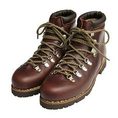 Avoriaz Boots in Marron Jannu Lis Ecorce by Paraboot France