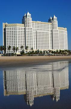 The famous Hotel Riu in Mazatlan