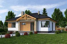 projekt Łucja II bez garażu WRF1683
