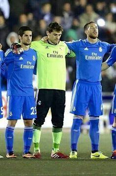 Isco, Iker, and Ramos