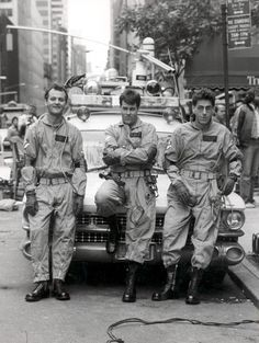 Ghostbusters, didn't you just love the car.  RIP Harold Ramis.