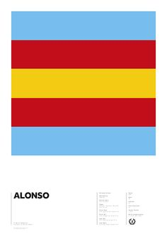 World Champions series - Alonso by Adrian Newell