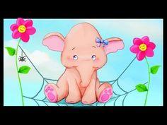 Un éléphant qui se balancait