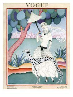 Helen Dryden - January 1922