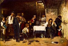 Mihaly Munkacsy - The Condemned Cell - 1870 - Hungarian National Gallery, Budapest Munkacsy's magnum opus, a tableau vivant of conflicting emotions, Condemned Cell Louis Xiv, Ludwig Xiv, St Therese Of Lisieux, Veuve, Google Art Project, Old Master, Madame, Art Google, 19th Century