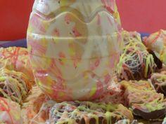 Oh mais il y a également un Œuf de Pâques ! lesdelicesdesandstyle.over-blog.com/2014/04/choco-art.html