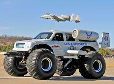 Air force Monster Truck #Trucking #AirForce   www.crcint.com