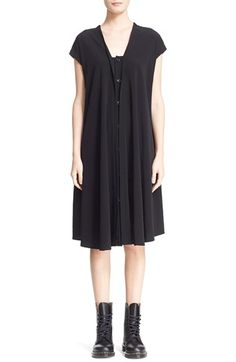 Y's by Yohji Yamamoto French Sleeve Dress available at #Nordstrom
