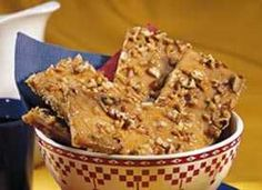 Praline Pecan Crunch - good for edible gifts!