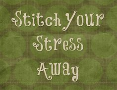 fun quote for quilters  source:  post on SewCalGal about fonts