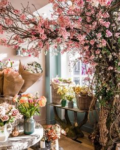 Spring has sprung! Well, it certainly has at Fortnum's. Our BRAND NEW Flower Shop is home to the most breathtaking bouquets… Fortnum And Mason, Spring Has Sprung, Wild Hearts, Vintage Roses, Silk Flowers, Cherry Blossom, Beautiful Flowers, Bloom, Table Decorations