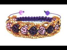 DIY: Shamballa bracelet with beads / Браслет шамбала с бисером