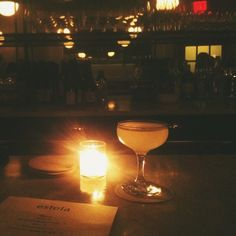 Estela in New York. Rosemary Society (gin, pear, brandy, lemon, grapefruit and rosemary) // photo by Bonnie Tsang