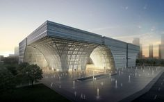 First prize in the Changzou Culture Center international competition by gmp Architekten