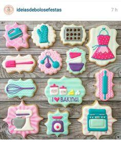 I love baking cookies