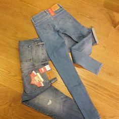 DE perfecte billen broek die je moet hebben ! De 710 super skinny die hadden we al in het grijs en nu hebben we ook DE 501 binnen #levis#jeansenlifestyle#dames#fashion