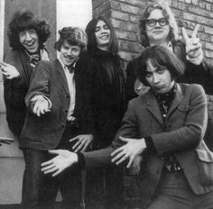 The wonderful original line-up of The Flamin' Groovies