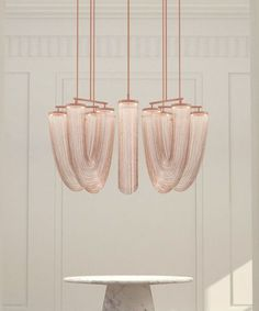 Beautiful copper lig