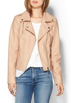 Closeout sale at Piperlime - get at extra 40% off sale! #piperlime #leatherjacket