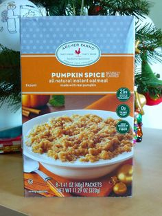 What's Good at Archer Farms?: Archer Farms Pumpkin Spice Instant Oatmeal