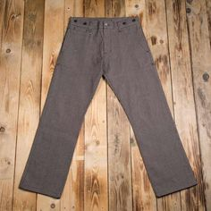 The Pike Brothers 1942 Hunting Pant 13 oz brown wabash consists of wabash selvage denim and was made for the life outdoors. Pike Brothers, Hunting Pants, Retro Pattern, Casual Pants, Work Wear, Brown, Album, Stripes, Denim