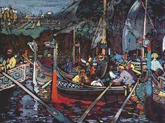 Gabriele Munter - Wassily Kandinsky - WikiArt.org