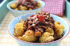 Low Carb Rezepte von Happy Carb: Beluga-Linsen-Curry auf Röstblumenkohl - Linsen und eine aromatische Currypaste sind gut Freund.