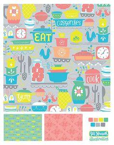 patterns and surface design - Jill Howarth Illustration