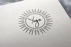 Yoga logo @creativework247