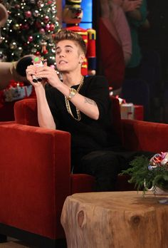 Justin Loves Ellen's Cow Poppers, Too!