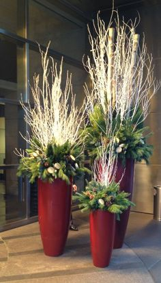 We love Clark's holiday spirit, but we hope that our ideas for outdoor holiday decorations will help you decorate your NYC home a little smarter, with a sophisticated flare. Description from http://bigappleflorist.com. I searched for this on bing.com/images