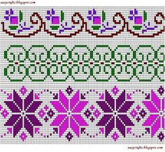 Easy Crafts - Explore your creativity: Cross Stitch Borders