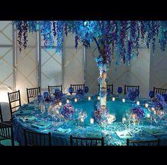 Beautiful, extravagant wedding decor!