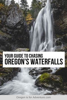 Oregon is a state that is full of scenic waterfalls, with some requiring a days hike to get to while others are an easy stroll on a paved path. I put together a list of the most beautiful waterfall hikes in Oregon so you can see the best Oregon waterfalls when you visit the Beaver State. | Oregon is for Adventure