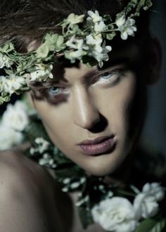 Mateusz Rogenbuk by Robin Alfin - The Mateusz Rogenbuk by Robin Alfin portrait series features the Neva Models face who is captured in studio. Beautiful Men, Beautiful People, Mini Mundo, Jace Lightwood, Arte Fashion, Midsummer Nights Dream, Foto Pose, Flower Boys, Jolie Photo
