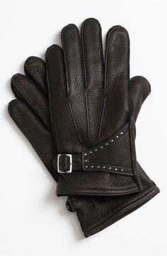 John Varvatos Star USA Deerskin Gloves available at #Nordstrom