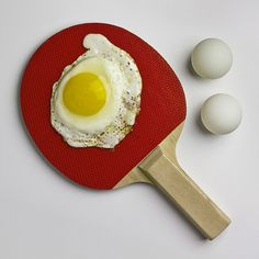 """Serving an egg ~ Giuseppe Colarusso ~ """"Unlikely…but not Impossible"""" series: http://www.celesteprize.com/artwork/ido:192193/  http://www.giuseppecolarusso.it/improbabilita_.html  http://www.thisiscolossal.com/2013/08/giuseppe-colarusso-unlikely/    iGNANT.de"""
