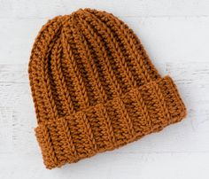 Ribbed Wonder: An Easy Crochet Hat – Crochet 365 Knit Too Ribbed Wonder: An Easy Crochet Hat – Crochet 365 Knit Too,Crochet Crafts Easy Crochet Hat is quick and fun to make thanks to. Ribbed Crochet, Quick Crochet, Double Crochet, Single Crochet, Free Crochet, Crochet Sole, Easy Crochet Hat Patterns, Crochet Beanie Pattern, Knit Patterns