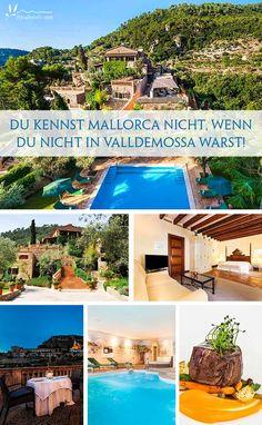Mallorca hat viele schöne Ecken. Aber kein Ort hat uns so in seinen Bann gezogen, wie das bezaubernde Örtchen Valldemossa. Zwischen ursprünglicher Natur und schroffem Gebirge liegt dieser Ort, der einen ganz besonderen Zauber hat. Enge, bunt geschmückte Natursteinwege, hübsche Gassen und dazwischen romantische Hotels & Restaurants. Der kleine Ort Valldemossa sollte auf eurer nächsten Reise-To-Do-Liste ganz oben stehen!