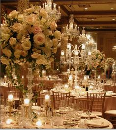 Gold and white reception ideas