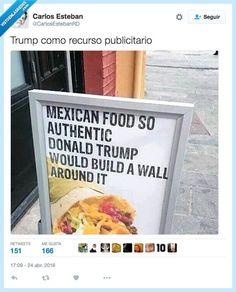 Nuestra comida es TAN mexicana... por @CarlosEstebanRD