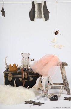 #dolls #pastel | cloth and thread | Mamapapa via captainandthegypsykid