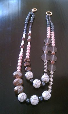 Anthro inspired necklace DIY