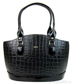 Krokodýlí design luxusní dámské kabelky