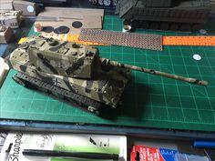 WW2 German panzer design by Tony b ISM