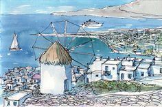Venice Italy original watercolour by AndreVoyy on Etsy