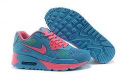 Nike Air Max 90 KTPU rosa Correr / azul http://www.esnikerun.com/